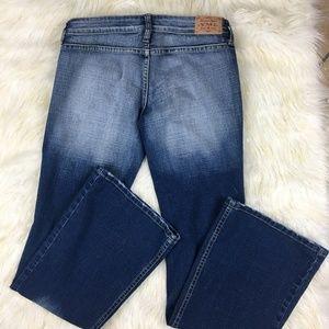 YMI Jeans Dark Wash No Back Pockets Bootcut 3